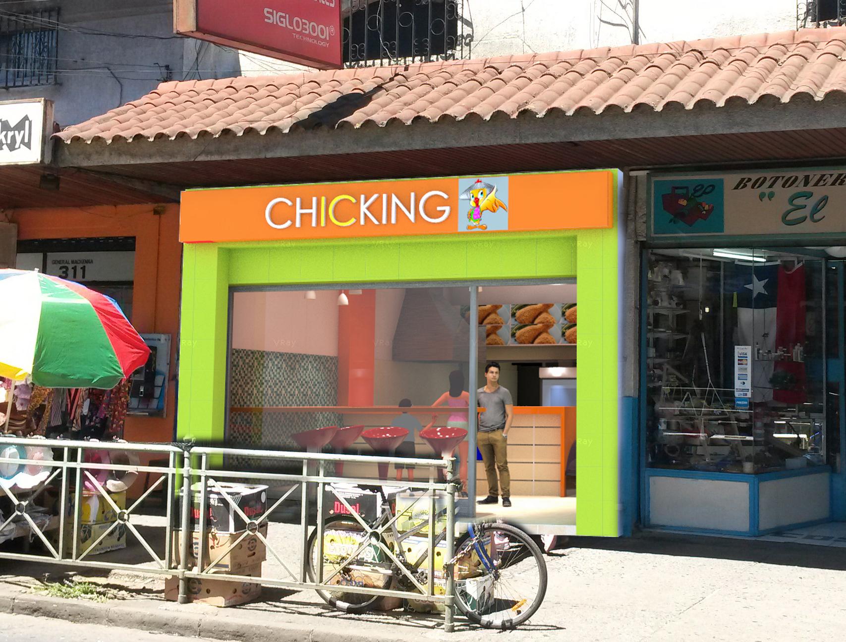 Local comida r pida temuco arquitectos en temuco for Fachadas de locales de comida rapida